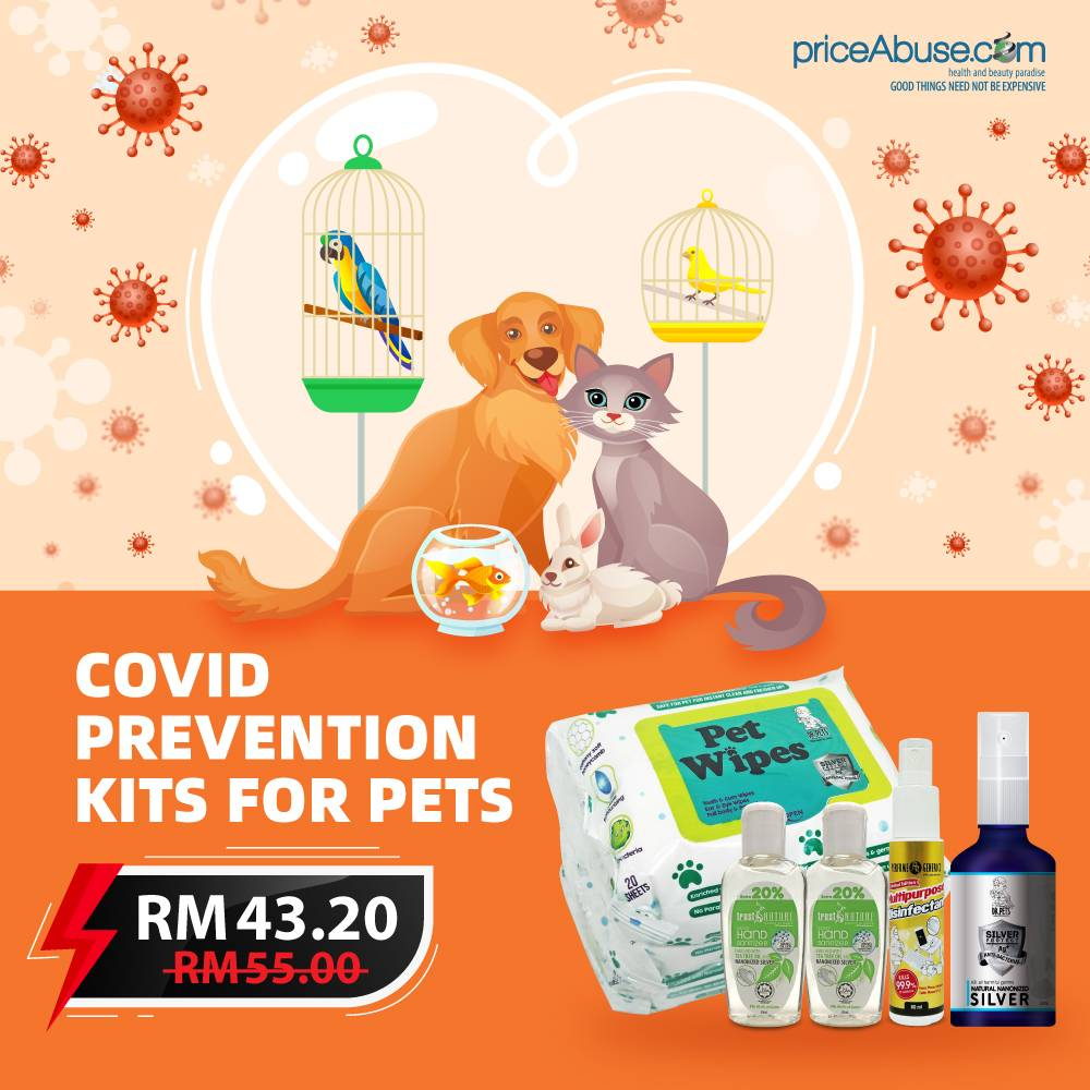 COVID PREVENTION KITS FOR PETS