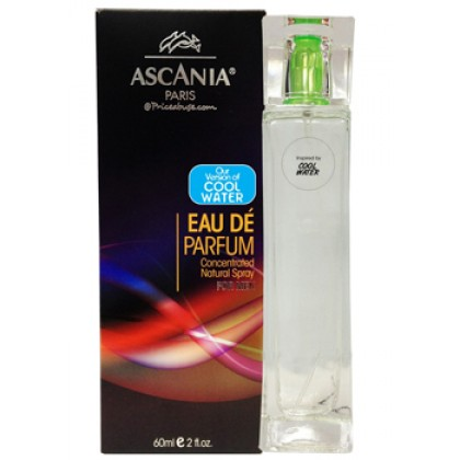 ASCANIA CONCENTRATED NATURAL PERFUME SPRAY INSPIRED BY COOL WATER