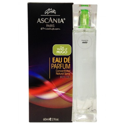 ASCANIA CONCENTRATED NATURAL PERFUME SPRAY INSPIRED BY HUGO 60ML