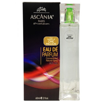 ASCANIA CONCENTRATED NATURAL PERFUME SPRAY INSPIRED BY ONE MILLION 60ML