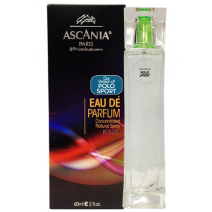 ASCANIA CONCENTRATED NATURAL PERFUME SPRAY INSPIRED BY POLO SPORT