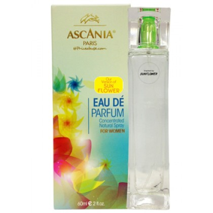 ASCANIA CONCENTRATED NATURAL PERFUME SPRAY INSPIRED BY SUNFLOWER 60ML
