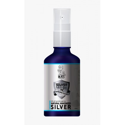 DR PETS NATURAL NANONIZED SILVER 50ML SPRAY
