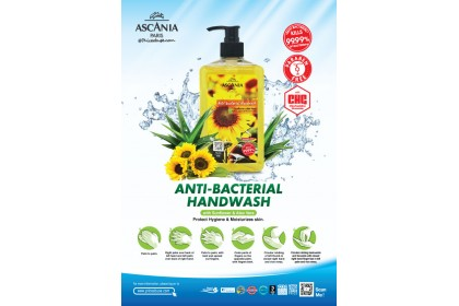 ASCANIA INSPIRED BY SUNFLOWER ANTI-BACTERIAL HANDWASH 500ML