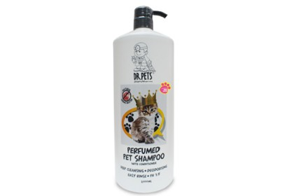 DR PETS INSPIRED BY PARIS HILTON NATURAL GERMS BUSTER PERFUMED PET SHAMPOO (CAT) 2L