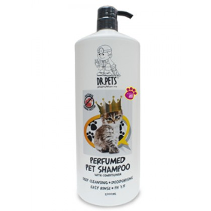 DR PETS INSPIRED BY LADY GAGA NATURAL GERMS BUSTER PERFUMED PET SHAMPOO (CAT) 2L