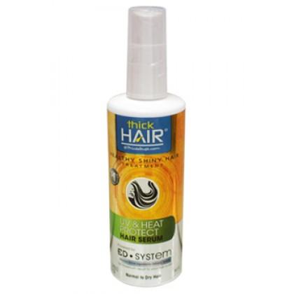 THICK HAIR HEALTHY SHINY HAIR TREATMENT UV & HEAT PROTECT HAIR SERUM