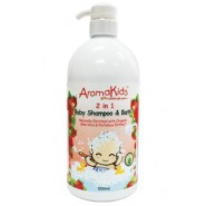 AROMAKIDS BABY 2 IN 1 SHAMPOO & BATH (STRAWBERRY)