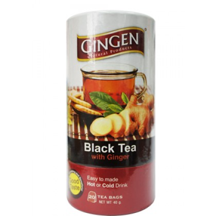 GINGEN TEA BAG BLACK TEA WITH GINGER