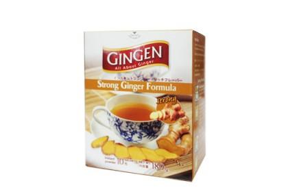 GINGEN GINGER DRINK INSTANT GINGER STRONG FORMULA (10sachet x 18g)