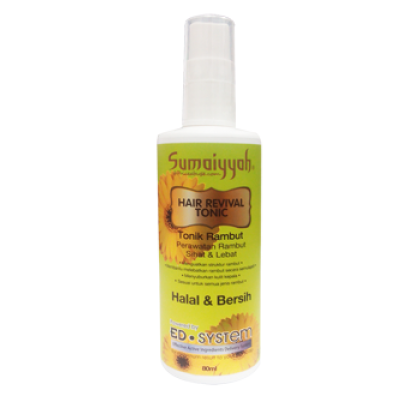 SUMAIYYAH HAIR REVIVAL TONIC (TONIK PEMULIH RAMBUT) 80ML