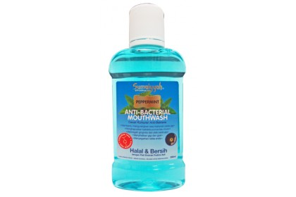 SUMAIYYAH PEPPERMINT ANTI-BACTERIAL MOUTH WASH 300ML
