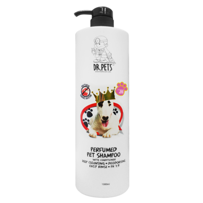 DR PETS INSPIRED BY PARIS HILTON NATURAL GERMS BUSTER PERFUMED PET SHAMPOO (DOG) 1L