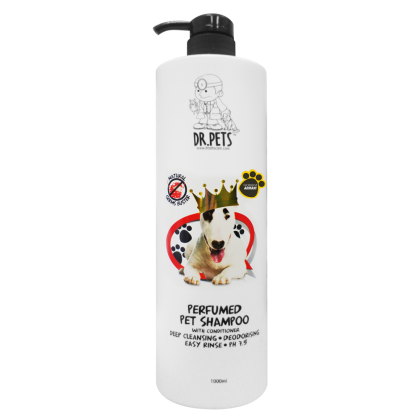 DR PETS INSPIRED BY ARMANI NATURAL GERMS BUSTER PERFUMED PET SHAMPOO (DOG) 1L