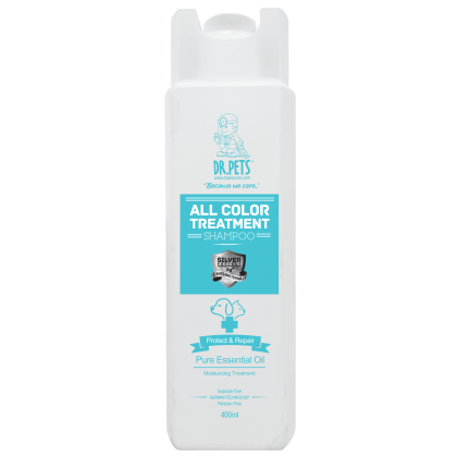 DR PETS NANOSILVER ALL COLOR TREATMENT SHAMPOO (JASMINE)