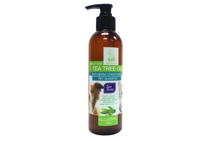 DR PETS ANTI-GERM CONDITIONING PET SHAMPOO - TEA TREE OIL (DOG & CAT) 300ML