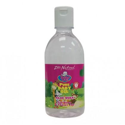 Zen Natural Baby Love Baby Oil - Aloe Vera 410ml