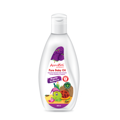 AROMAKIDS PURE BABY OIL - PLAYFUL DEWBERRY 200ML