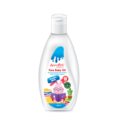 AROMAKIDS PURE BABY OIL - VANILLA MILK 200ML