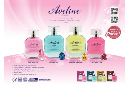 AVELINE CONCENTRATED PERFUME SPRAY - ROSE QUARTZ (W) - 50ML