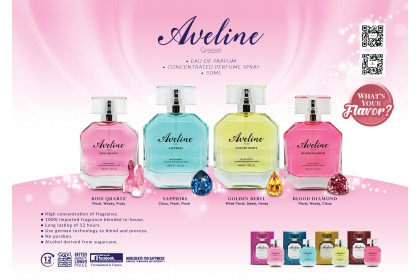 AVELINE CONCENTRATED PERFUME SPRAY - ROSE QUARTZ (W) - 50ML