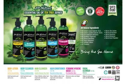 Zen Natural (ZN) Essential Oil of Tea Tree Facial Cleanser 100ml