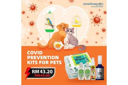 COVID PREVENTION FOR PET KIT