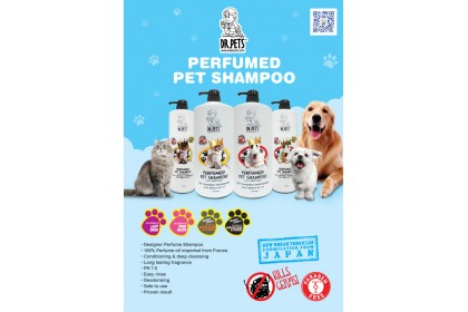 DR PETS INSPIRED BY CK CONTRADICTION NATURAL GERMS BUSTER PERFUMED PET SHAMPOO (DOG) 1L