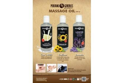 PERFUME GENERICS (PG) SUNFLOWER MASSAGE OIL 200ML
