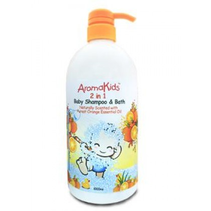 AROMAKIDS 2 IN 1 BABY SHAMPOO & BATH 1000ML