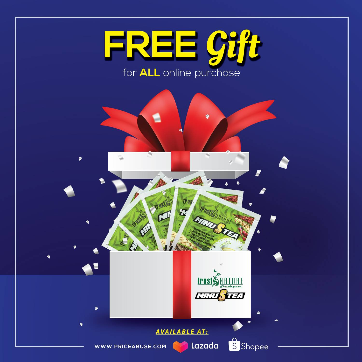 Free gift online purchase
