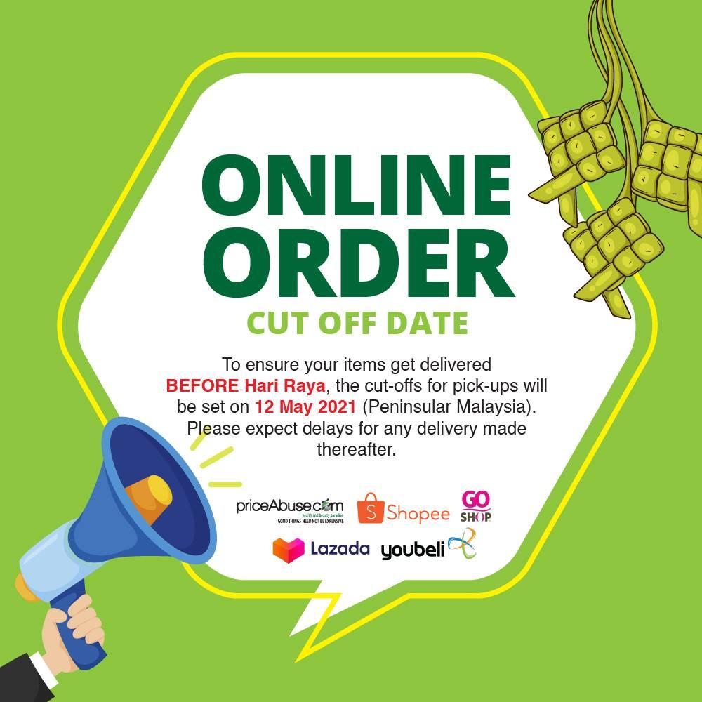 Raya cut off date