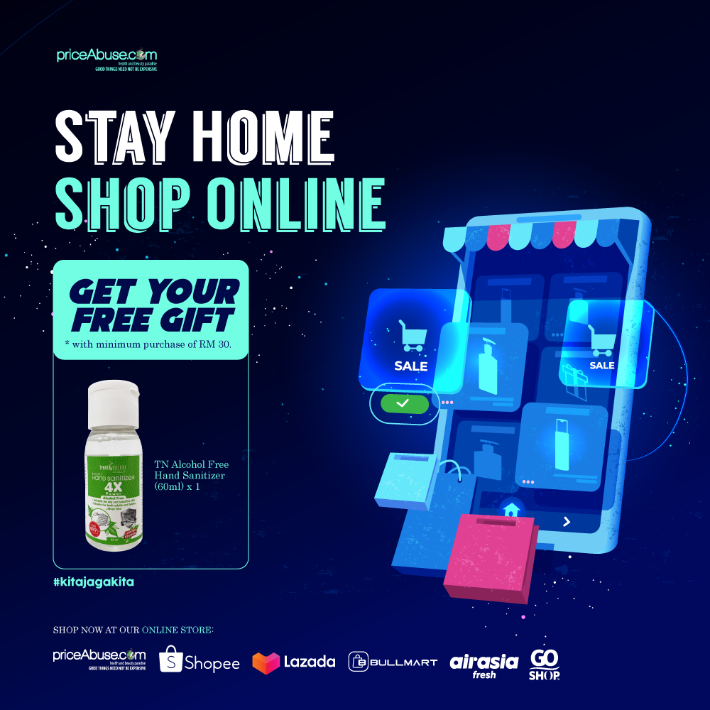 Stay Home, Shop Online